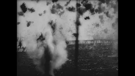 Kamikazi-Piloten-Aus-Japan-Terrorisieren-Marineschiffe-Im-Zweiten-Weltkrieg