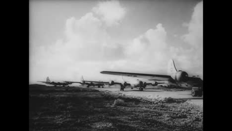 B29-Bombers-Are-Used-Effectively-Against-Japan-In-World-War-Two