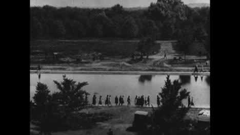 El-Monumento-A-Lincoln-Se-Dedica-En-Washington-Dc-En-1922