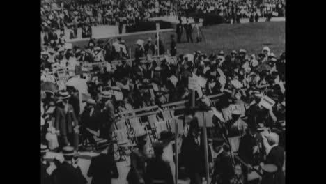 El-Monumento-A-Lincoln-Se-Dedica-En-Washington-Dc-En-1922-2