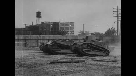 Los-Tanques-Se-Prueban-Por-Primera-Vez-En-La-Primera-Guerra-Mundial