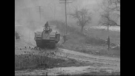Tanks-Are-Tested-For-The-First-Time-In-World-War-One-5