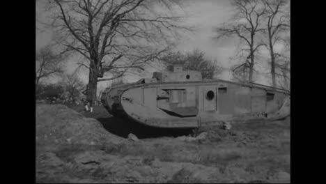 Los-Tanques-Se-Prueban-Por-Primera-Vez-En-La-Primera-Guerra-Mundial-6