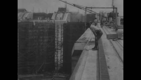 Scenes-From-The-Construction-Of-The-Panama-Canal-In-1913-And-1914
