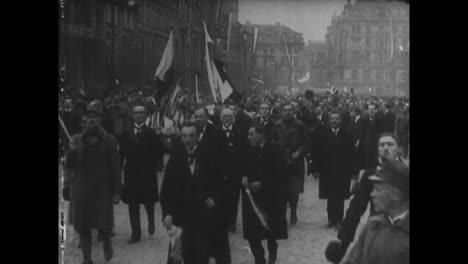 Die-Republik-Tschechoslowakei-Wird-1918-Nach-Dem-Zusammenbruch-Der-österreichisch-ungarischen-Monarchie-Nach-Dem-Weltkrieg-Gegründet