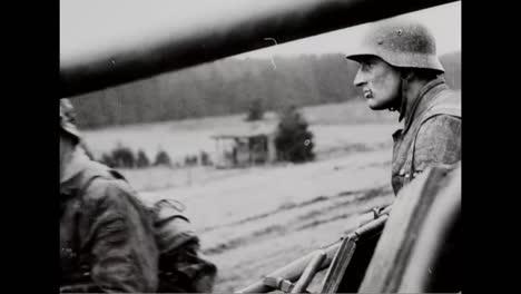 Gefangener-Deutscher-Kriegsfilm-Zeigt-Deutsche-Truppen-Ende-1944-Auf-Dem-Schlachtfeld-Gegen-Amerikanische-Truppen-1