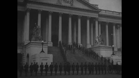 The-American-Unknown-Soldier-From-World-War-One-Is-Brought-From-The-Capitol-In-Washington-Dc