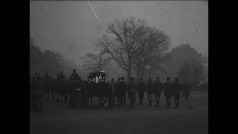 The-American-Unknown-Soldier-From-World-War-One-Is-Brought-From-The-Capitol-In-Washington-Dc-1