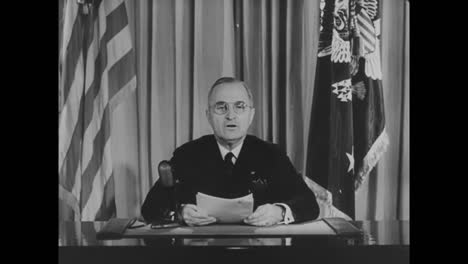 Harry-Truman-Announces-The-End-Of-World-War-Two