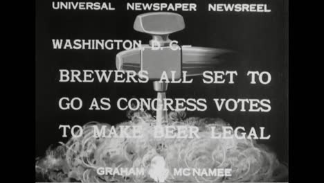 Beer-Is-Legalized-After-Prohibition-Is-Abolished-In-1933-And-Congress-Drinks-A-Toast