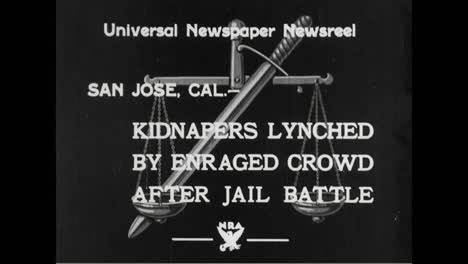A-Crowd-Lynches-Two-Criminals-Who-Casued-A-Jail-Riot-In-1933