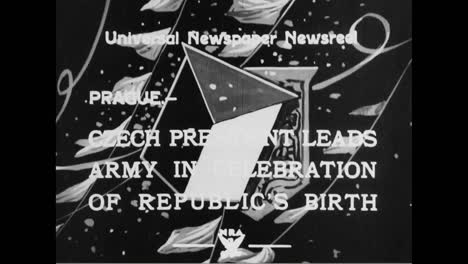 The-15-Year-Anniversary-Of-The-Founding-Of-The-Republic-Of-Czechoslovakia-Is-Celebrated-In-1933