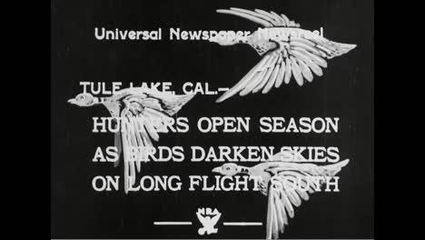 The-1933-Hunting-Season-Opens-At-Tule-Lake