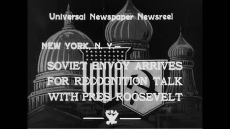 On-November-16-1933-President-Franklin-Roosevelt-Ended-Almost-16-Years-Of-American-Nonrecognition-Of-The-Soviet-Union-Following-A-Series-Of-Negotiations-In-Washington-Dc-With-The-Soviet-Commissar-For-Foreign-Affairs-Maxim-Litvinov