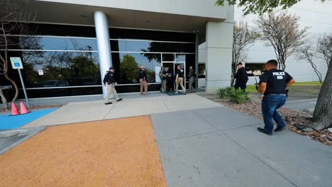A-Large-Group-Of-Ice-Agents-Enter-A-Building-In-Dallas-Texas-And-Remove-37-Cambodian-Nationals-June-2Nd-2019
