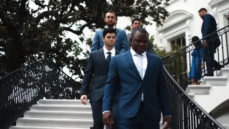 Presidente-Trump-Da-La-Bienvenida-A-Los-Boston-Red-Soxs-A-La-Casa-Blanca-2018