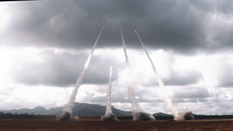 Participants-From-The-Us-Army-Us-Marines-And-Australian-Defense-Force-Showcase-A-Live-Fire-Of-The-M142-High-Mobility-Artillery-Rocket-System-(Himars)-2019