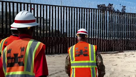 Usace-Commanding-General-And-54Th-Us-Army-Chief-Of-Engineers-Lt-Gen-Todd-Semonite-Conducted-Border-Barrier-Construction-Site-Visits-Near-San-Diego-California-July-9