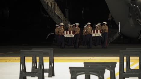 Us-Service-Members-With-The-Defense-Pow/Mia-Accounting-Agency-Take-Part-In-A-Repatriation-Ceremony-On-Joint-Base-Pearl-Harborhickam-Hawaii-July-17-2019