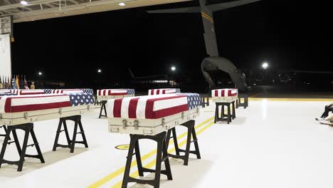 Us-Service-Members-Conducting-Repatriation-Ceremony-Of-The-Remains-That-Are-Believed-To-Be-Of-Us-Service-Members-From-World-War-Ii_s-Battle-Of-Tarawa-July-17-2019