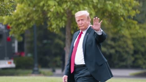 El-Presidente-Trump-Sale-De-La-Casa-Blanca-En-Marine-One-2019