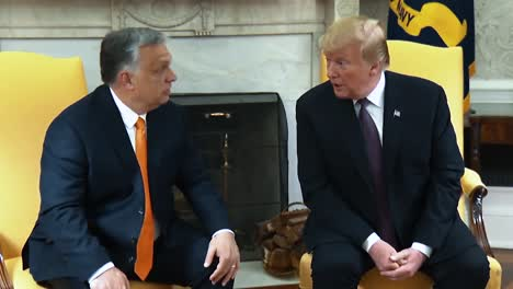Hungarys-Prime-Minister-Viktor-Orban\-S-Opening-Statement-In-A-Joint-Press-Conference-With-President-Trump-2019