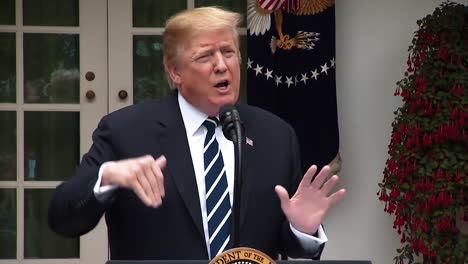 President-Trump-Makes-Remarks-On-Drug-Prices-Border-Crisis-And-An-Infastructure-Meeting-With-Democrats-2019