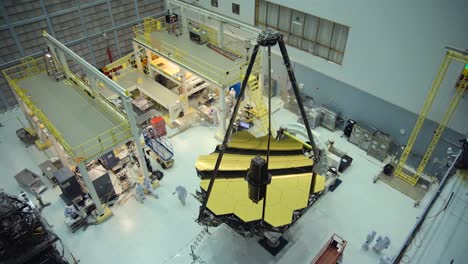 Broll-Of-The-Construction-Of-The-James-Webb-Telescope-2016