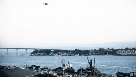 San-Diego-Coast-Guardsmen-Stage-A-Search-And-Rescue-Demonstration-With-An-Mh60T-Jayhawk