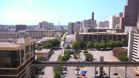 Establishing-wide-angle-view-across-Atlanta-Georgia