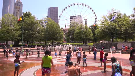 Kids-play-in-the-fountains-at-Centennial-Olympic-Park-in-Atlanta-Georgia-2