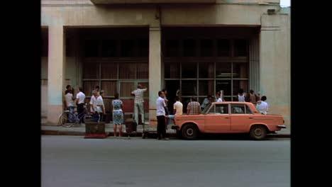Historische-Straßenszenen-Aus-Kuba-In-Den-1980er-Jahren