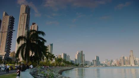 The-Panama-City-Panama-skyline-is-shown