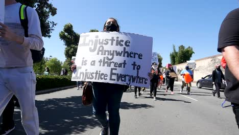 Extreme-Slo-Mo-Marching-Protesters-During-A-Black-Lives-Matter-Blm-March-In-Ventura-California-With-Signs-1