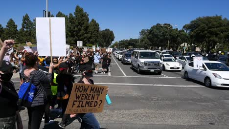 Extreme-Slo-Mo-Signs-Say-Defund-The-Police-During-A-Black-Lives-Matter-Blm-March-In-Ventura-California-1