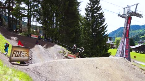 Bmx-Dirt-Bike-Jumps-At-Les-Gets-France