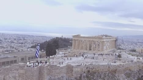 Good-Drone-Aerial-Shot-Of-The-Parthenon-Acropolis-In-Athens-Greece-Greek-Architecture-1