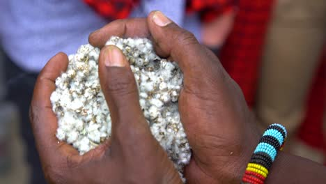 Cotton-Is-Lit-On-Fire-And-Held-In-A-Hand-In-A-Traditional-Ceremony-In-Kenya-East-Africa