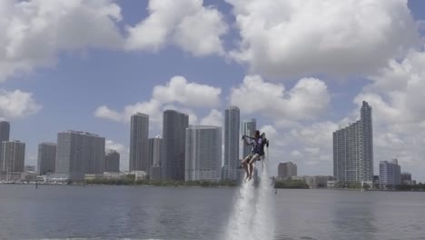 A-Man-Hovers-Using-A-Water-Jetpack-Flyboard-On-The-Ocean-In-Miami-Florida-1