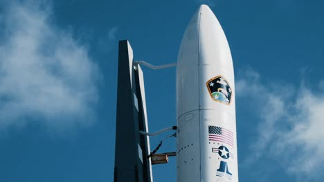 The-Aehf5-Is-Seen-At-Cape-Canaveral
