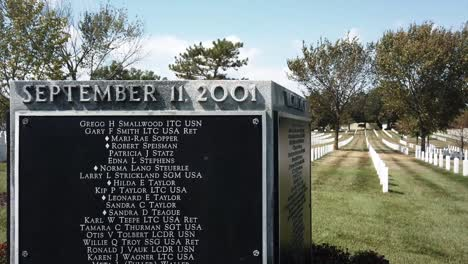 The-9/11-Memorial-Gravesite-Is-Seen-At-The-Arlington-National-Cemetery