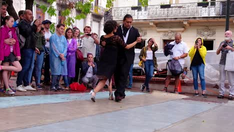A-Couple-Dances-A-Flamenco-Dance-In-Public-On-The-Streets-Of-Argentina