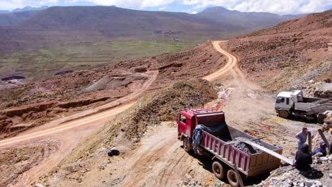 Establishing-Shot-Of-The-Potosi-Silver-And-Tin-Mine-In-Bolivia-South-America