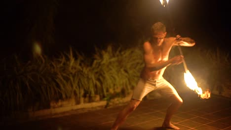 A-Man-Performs-A-Fire-Dance-Performance-In-Bali-Indonesia