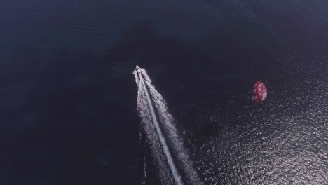 Good-Aerial-Over-A-Parasailing-Boat-On-The-Ocean-In-Malta-2