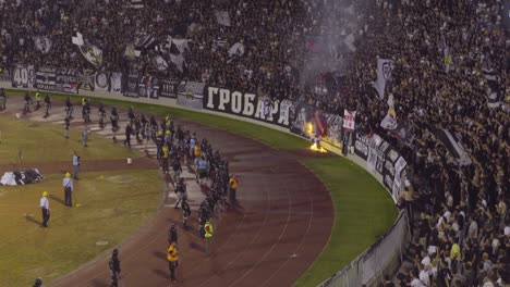 A-Riot-And-Fires-Break-Out-As-Soccer-Hooligans-Go-Crazy-Rioting-At-A-Football-Match-In-Novi-Sad-Serbia-4