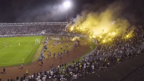 A-Riot-And-Fires-Break-Out-As-Soccer-Hooligans-Go-Crazy-Rioting-At-A-Football-Match-In-Novi-Sad-Serbia-5