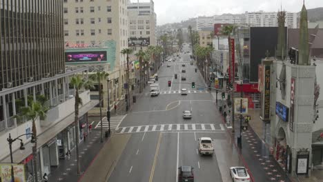 Aerial-Of-The-Streets-Of-Hollywood-And-Los-Angeles-Are-Abandoned-And-Empty-During-The-Covid19-Corona-Virus-Outbreak-1