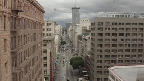 Antena-De-Calles-Abandonadas-Vacías-De-Los-ángeles-Durante-La-Epidemia-1-Del-Brote-Del-Virus-Corona-Covid19