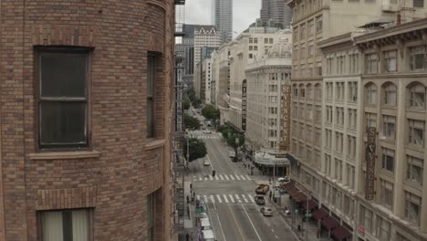 Aerial-Of-Empty-Abandoned-Streets-Of-Los-Angeles-During-Covid19-Corona-Virus-Outbreak-Epidemic-2